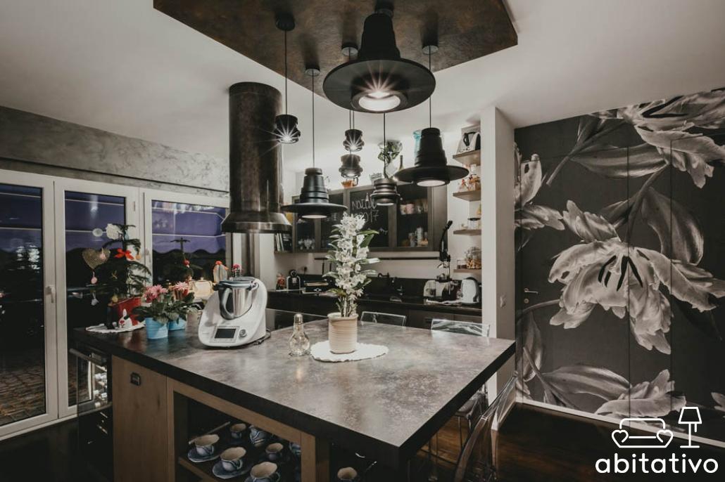 Interni case accoglienti con tonalit di grigio per pareti for Pareti eleganti