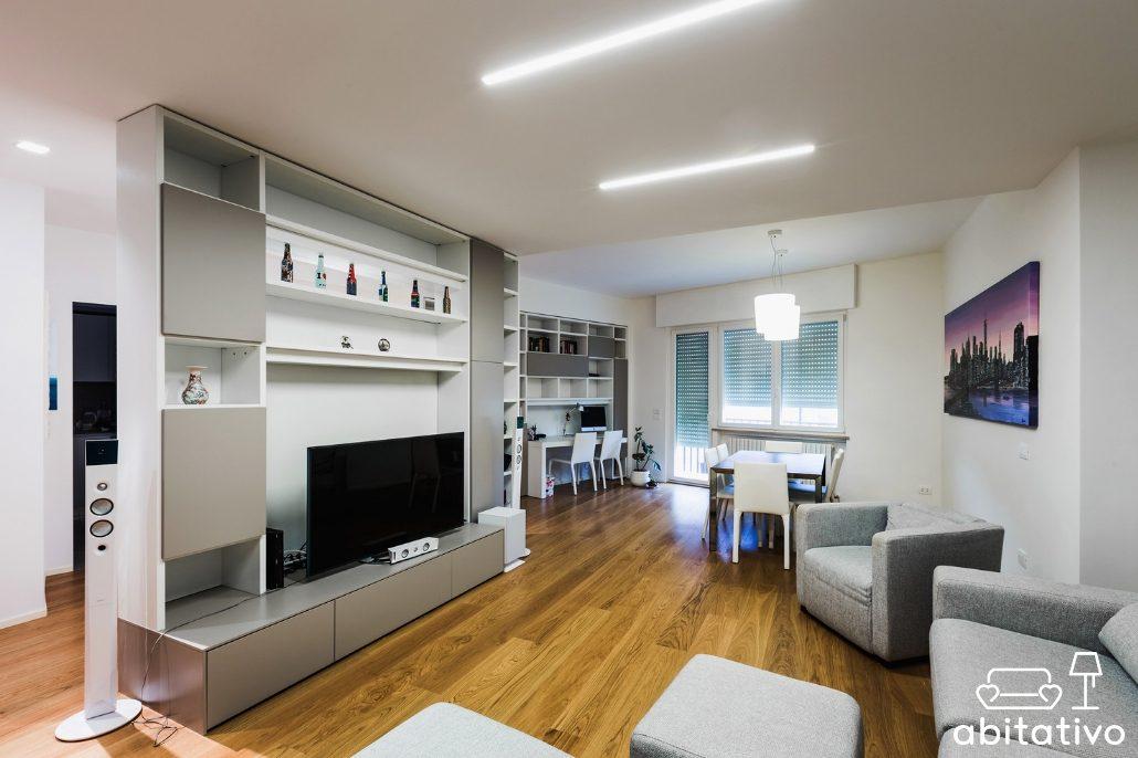 dividere gli ambienti di casa senza pareti