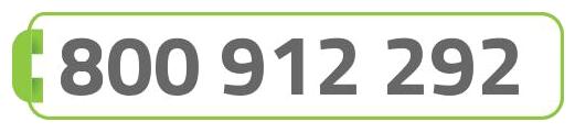 Numero verde 800 912292