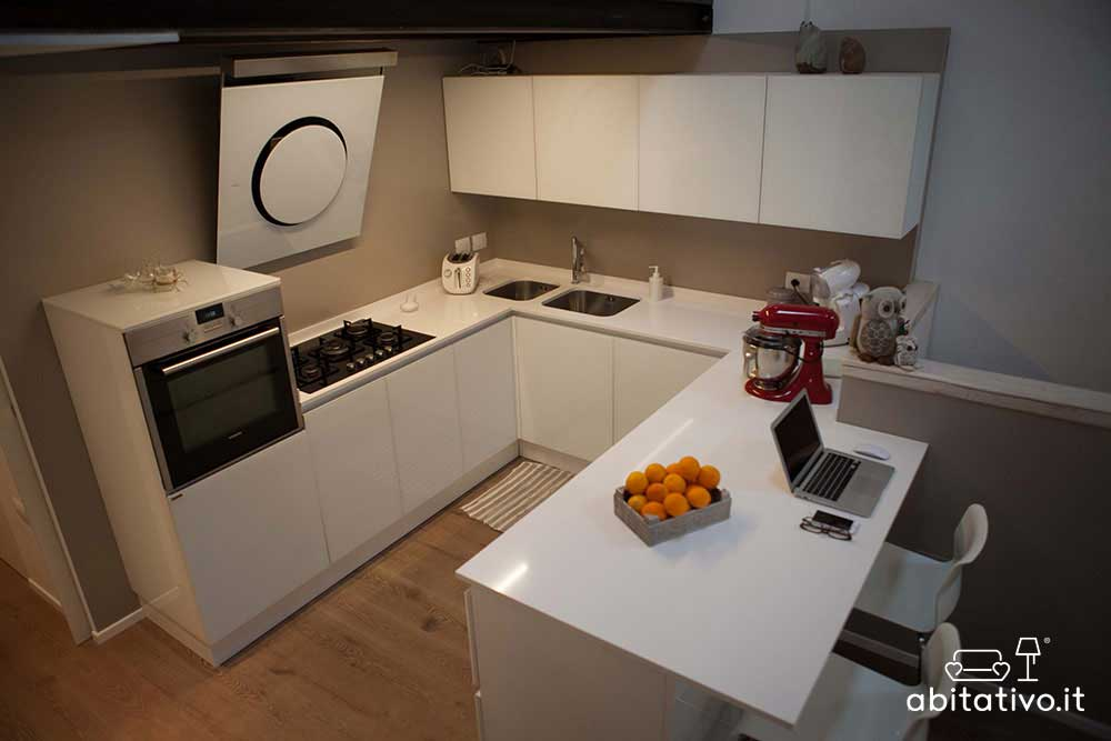 progettare cucina sotto soppalco