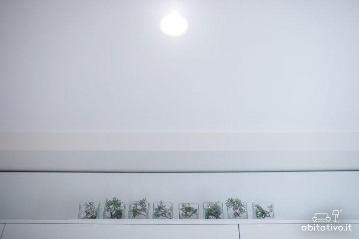 soluzione illuminazione cucina con faretti