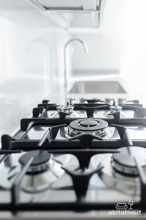 piano cottura fornelli a gas moderni