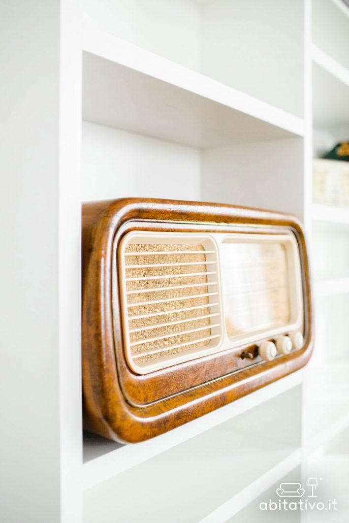radio vintage decorativa