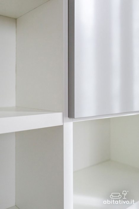 librerie moderne con ante chiuse