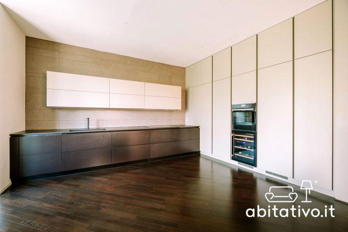 progetto cucina design minimal