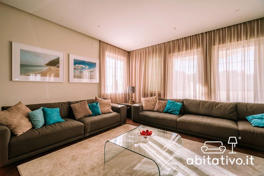 arredamento design moderno soggiorno ampio
