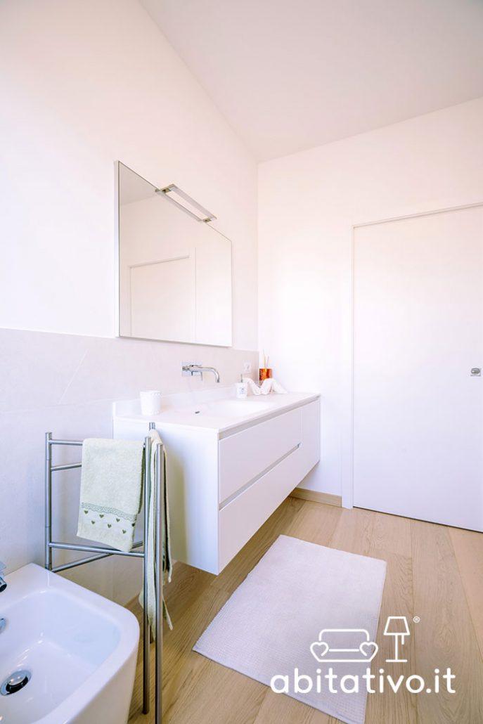arredamento bagno moderno bianco
