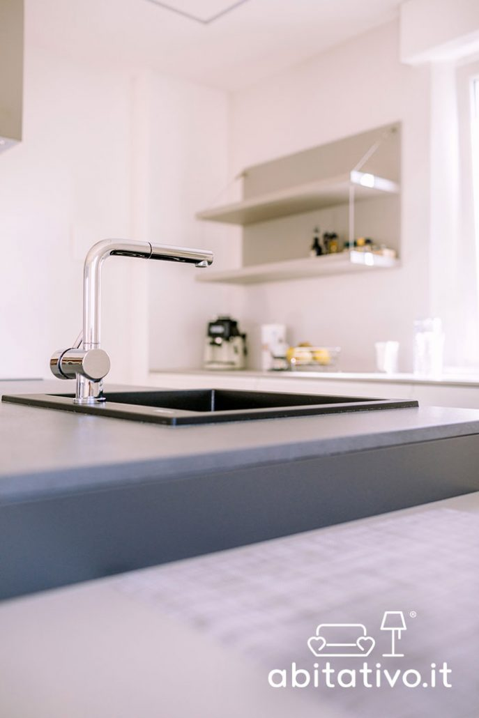 lavandino moderno isola cucina