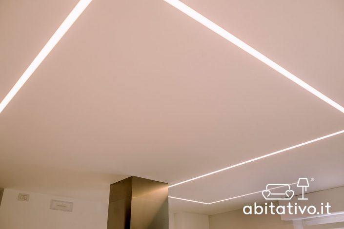 luci soffitto strisce a led