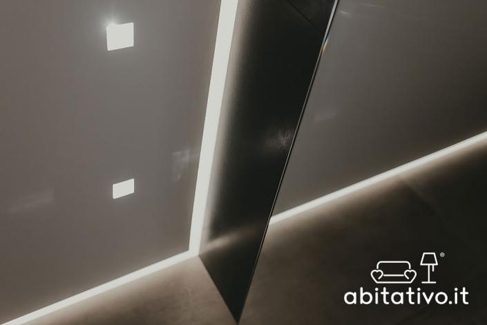 progetto illuminazione soffitto