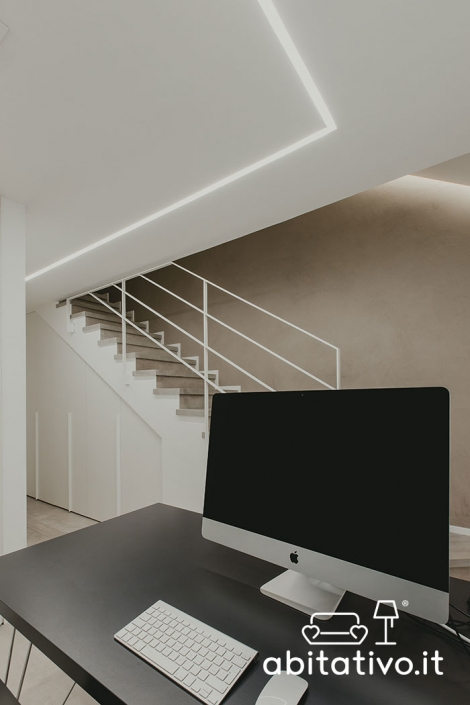 illuminazione ambiente senza finestre
