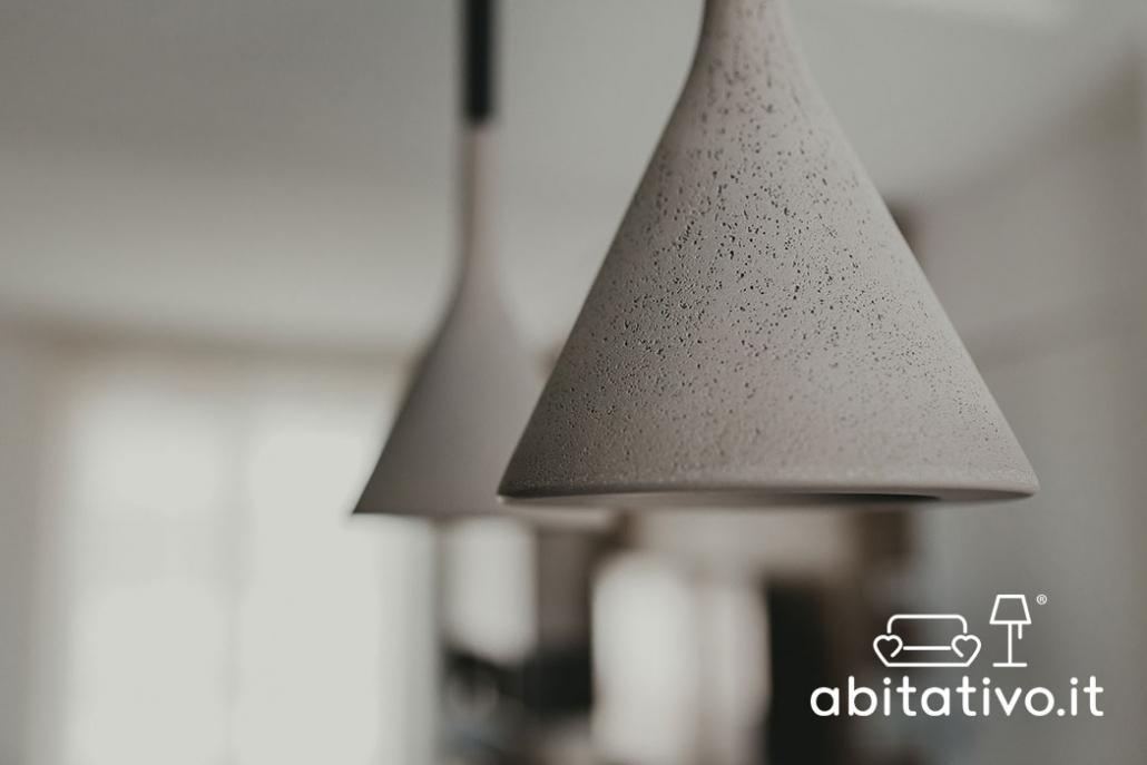 lampada sospensione cemento
