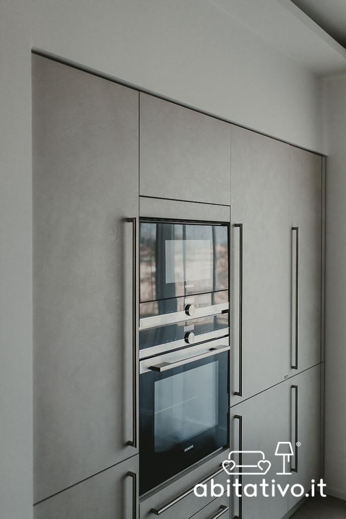 mobile cucina a filo muro