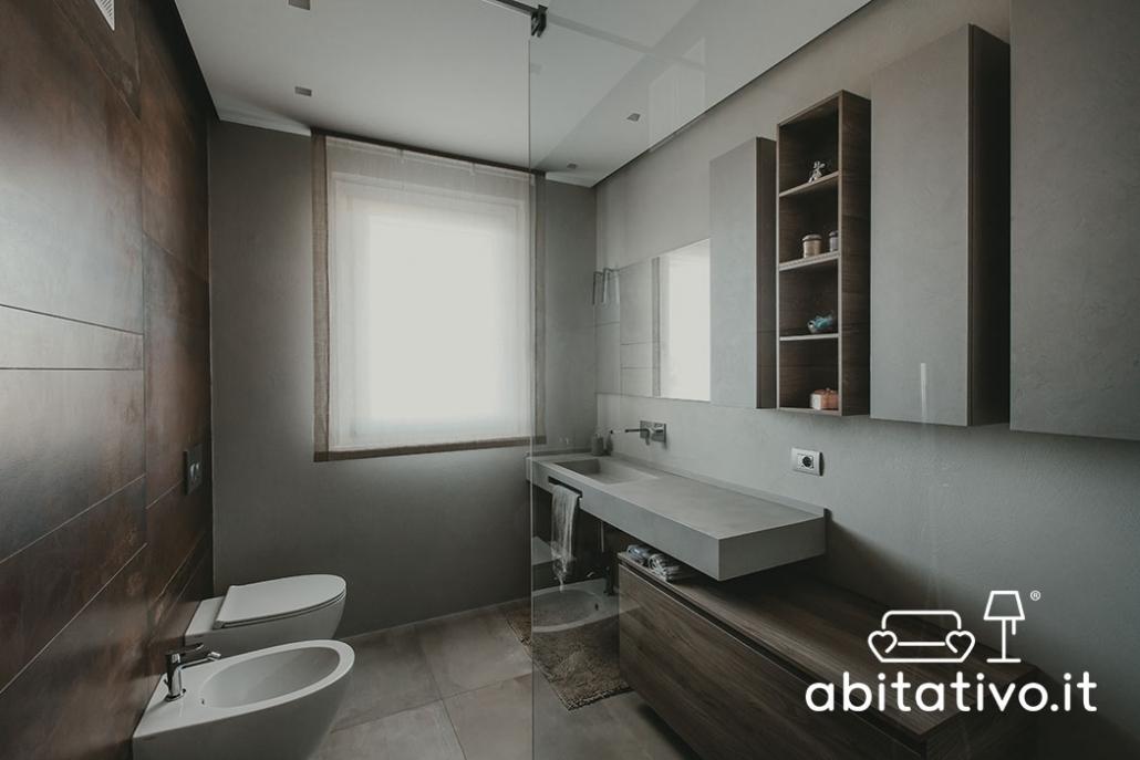 progetto arredo bagno moderno