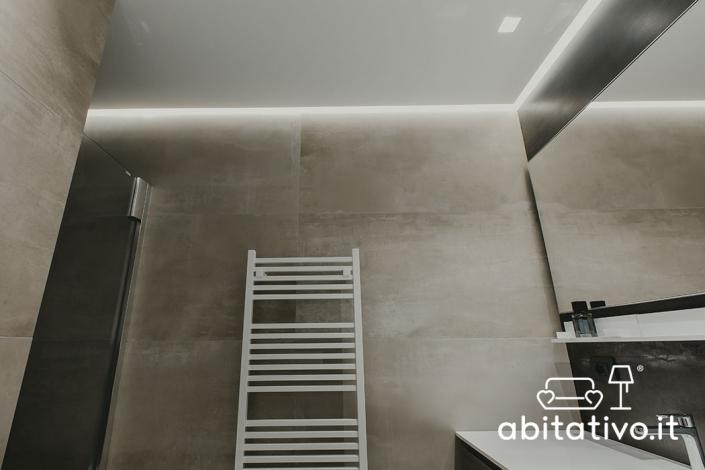 illuminazione led perimetro soffitto