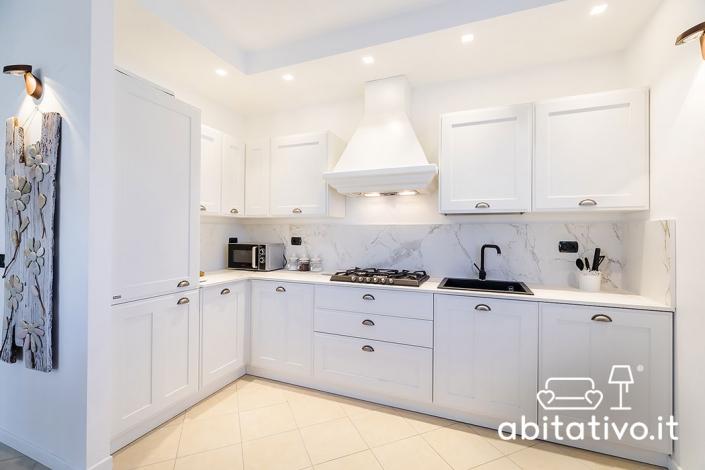 arredamento cucina total white