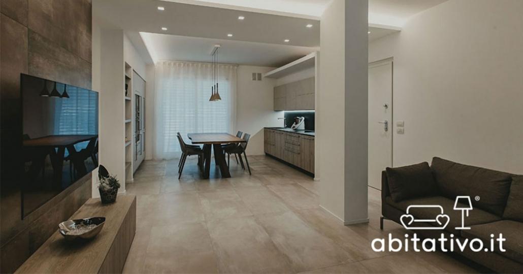 Cucina e sala insieme - Abitativo