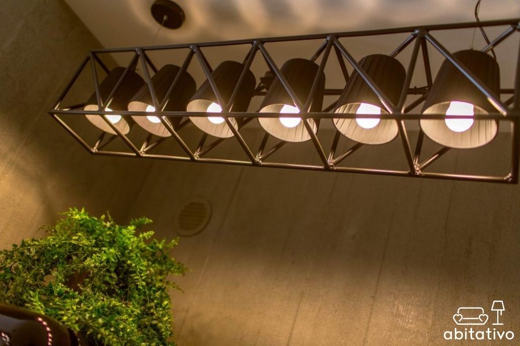 illuminazione stile industriale