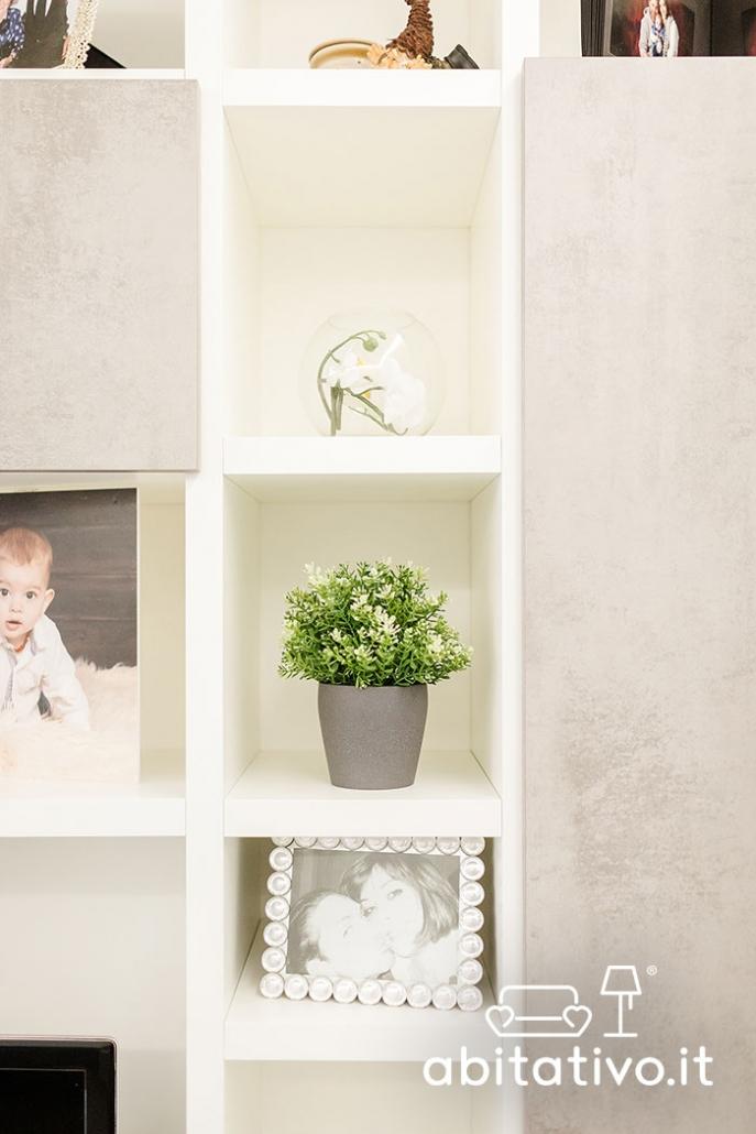 oggetti decorativi mobile soggiorno