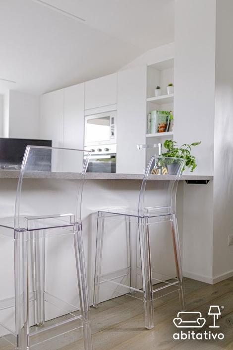 sgabelli cucina trasparenti