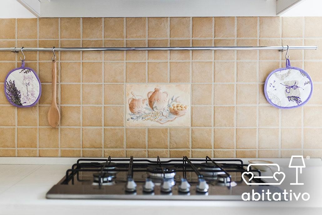 piastrelle cucina stile antico