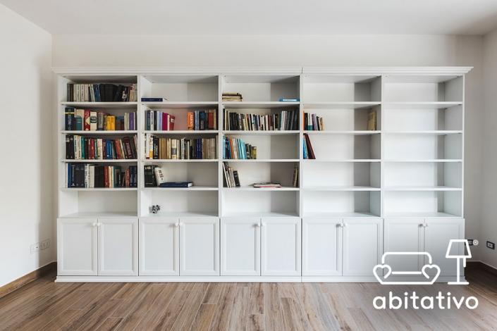 libreria bianca country