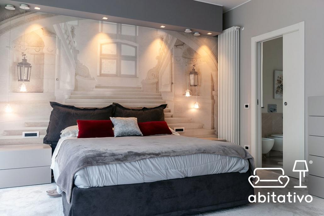 decorazioni pareti camera da letto classica