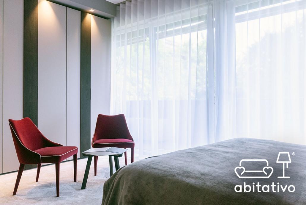 poltrone per camere da letto moderne