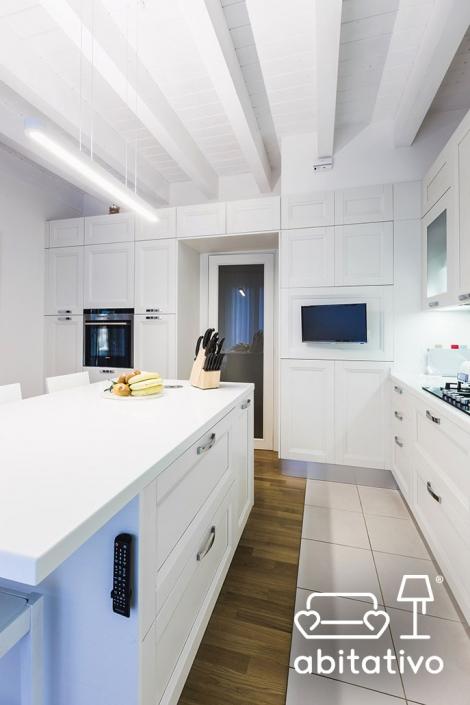mobili cucina con ante in legno