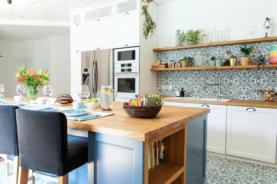arredamento di una casa in stile mediterraneo