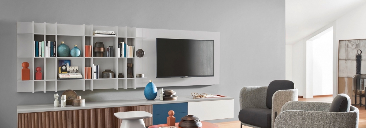 arredo soggiorno moderno