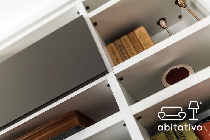 mobile libreria a parete