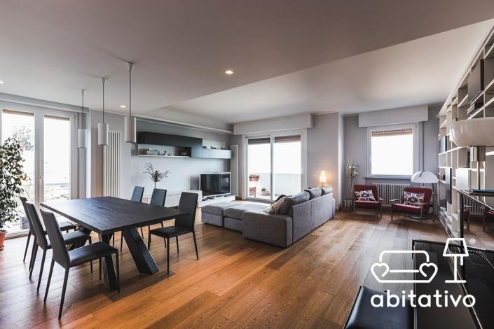 progettare arredo soggiorno moderno