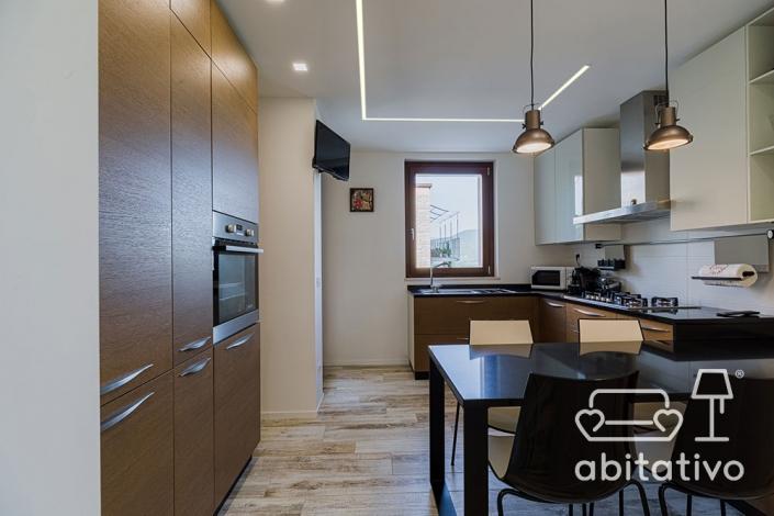 progettazione illuminazione cucina