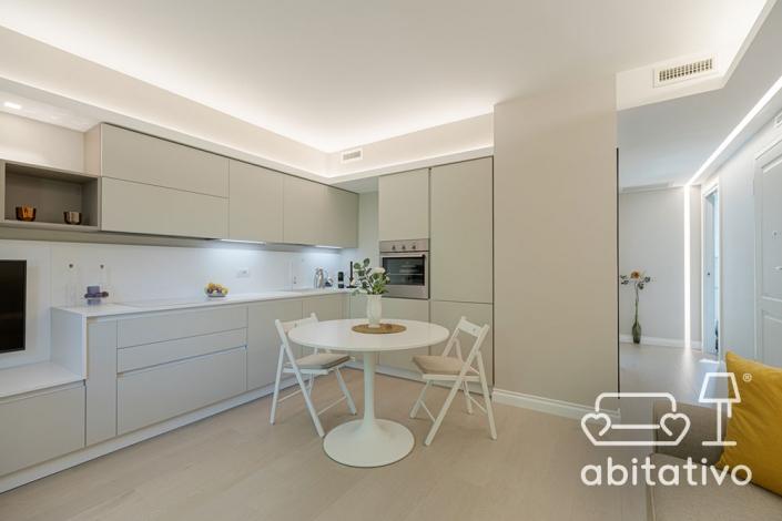 piccolo open space cucina soggiorno