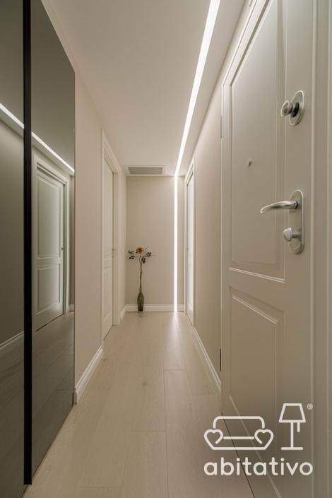 illuminare corridoio con striscia led