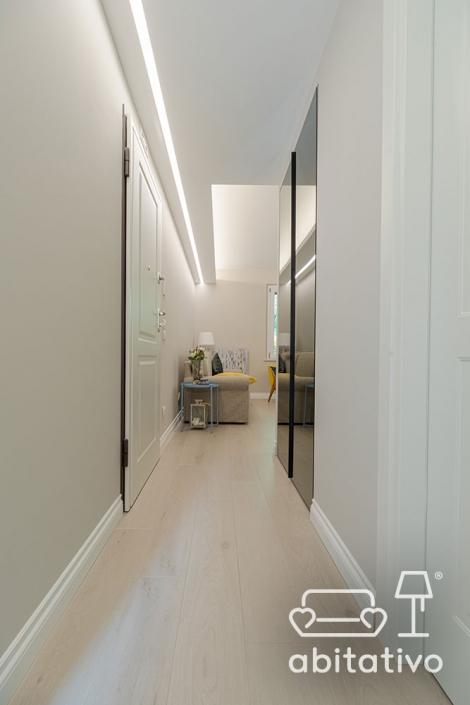 armadio corridoio nascosto