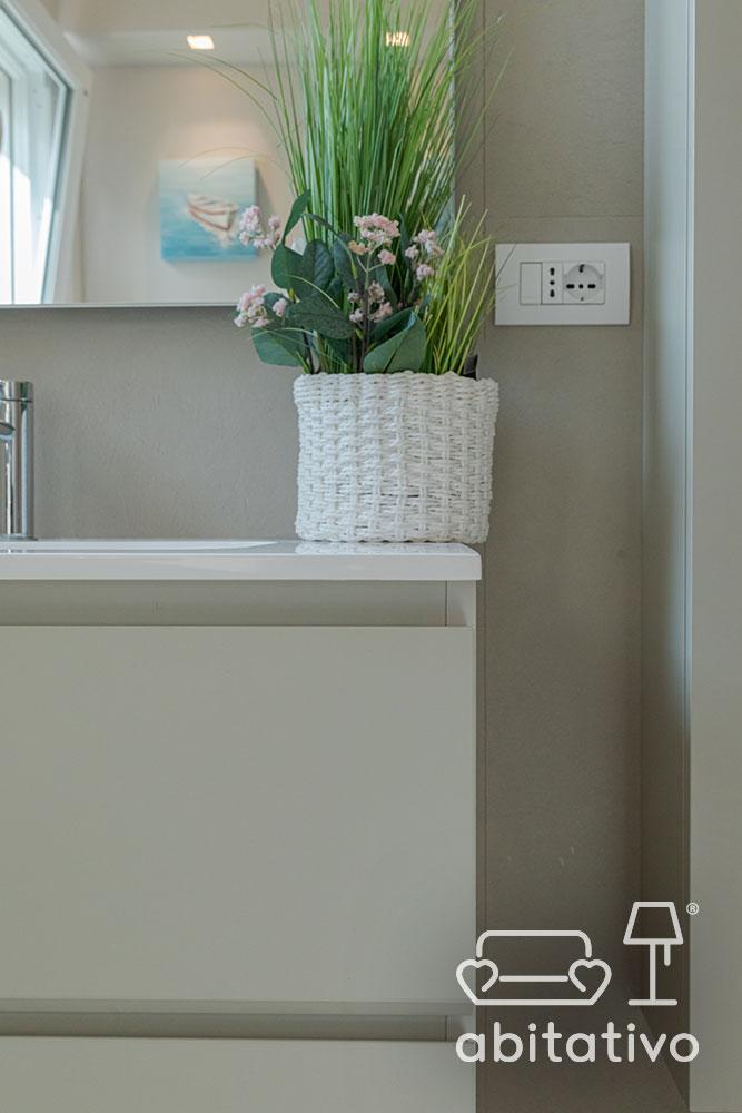 piante decorazione bagno