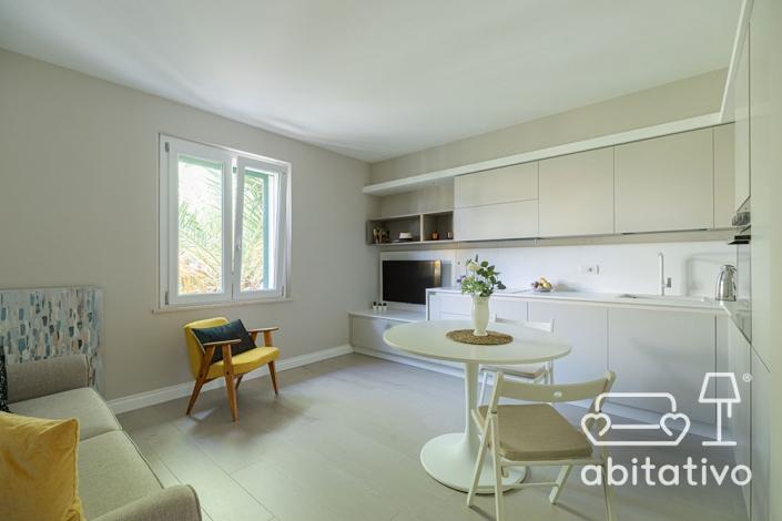 arredare cucina soggiorno open space