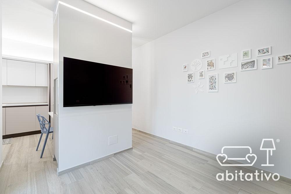 mezza parete divisoria cucina soggiorno