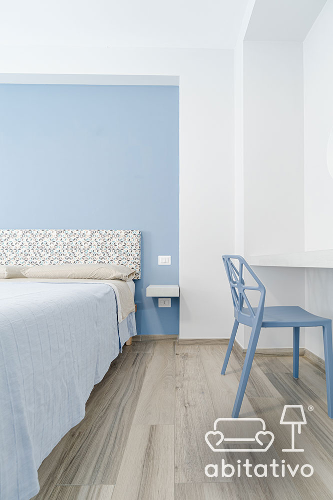 colore azzurro per camera da letto