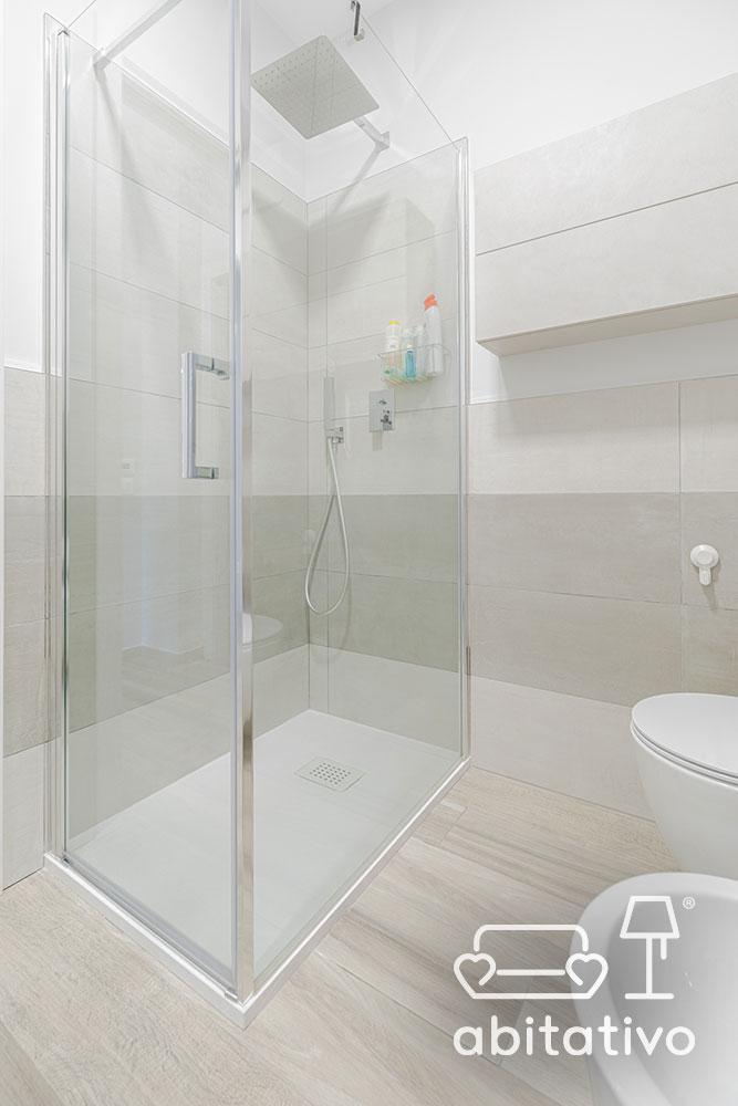 box doccia vetro trasparente