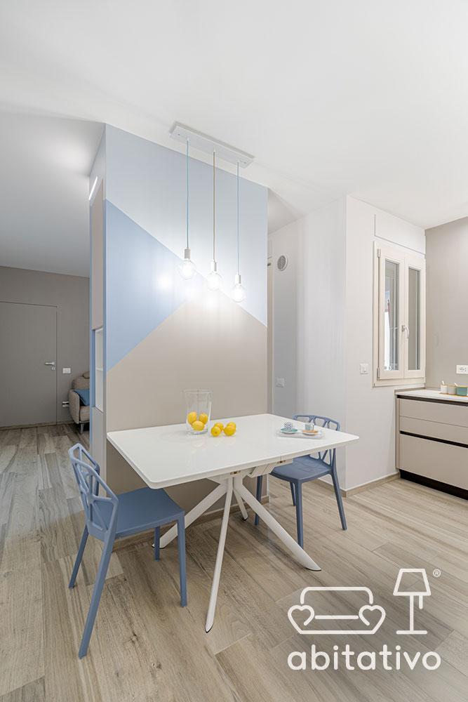 arredamento minimal cucina soggiorno
