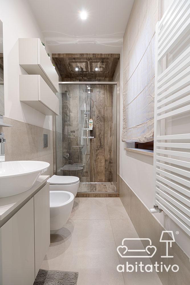 faretti illuminazione box doccia
