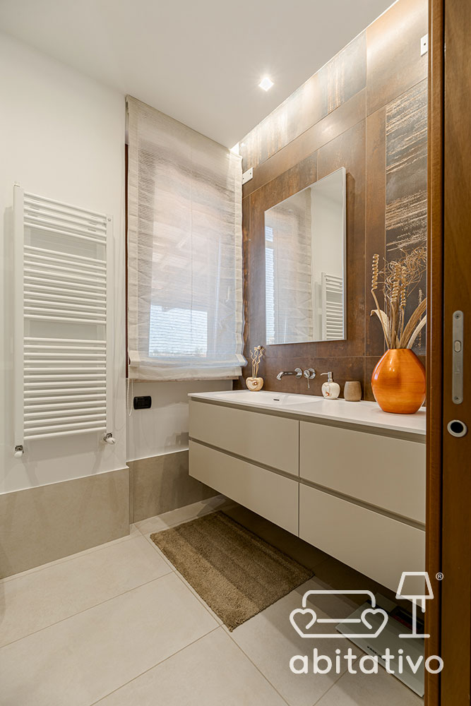 rivestimento pareti bagno in legno