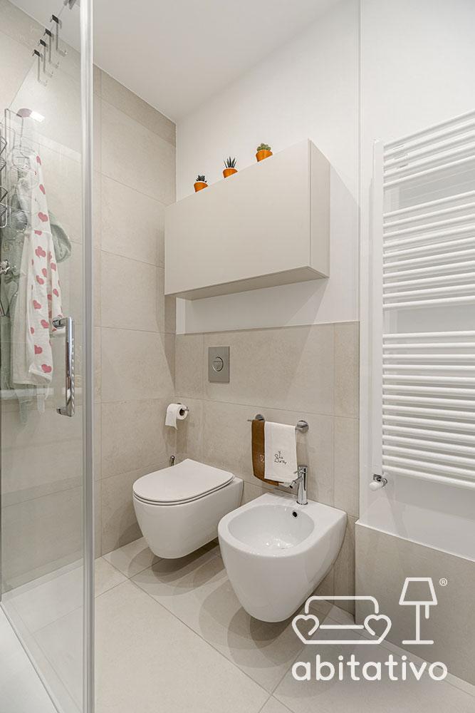 ristrutturazione interni bagno moderno