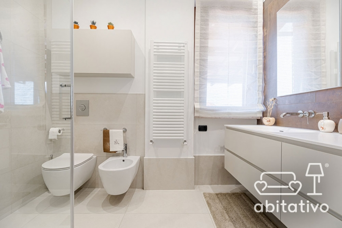 sanitari sospesi bagno moderno