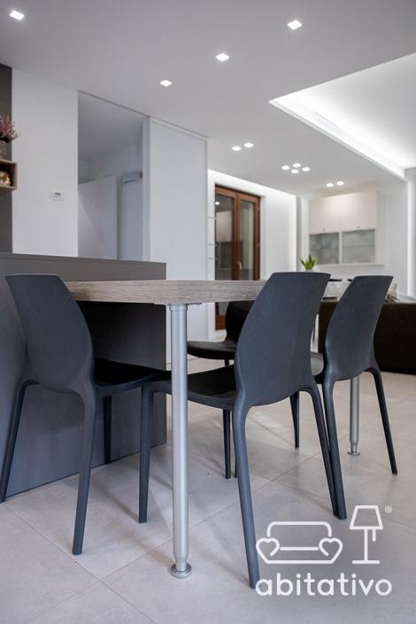 gambe tavolo acciaio design