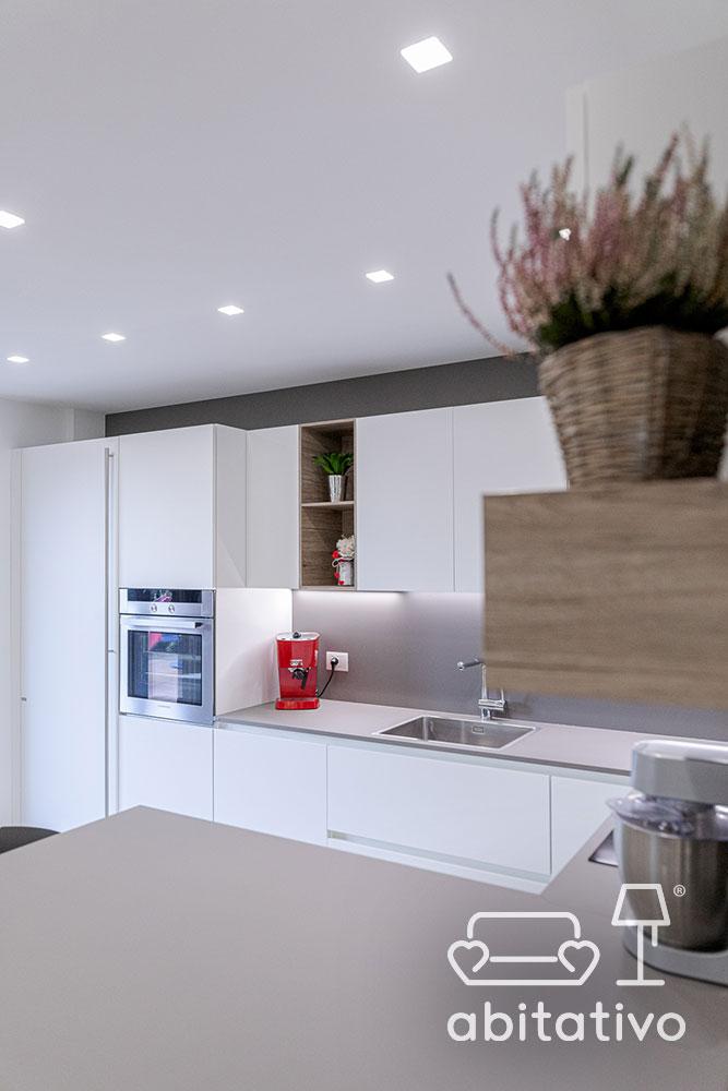 posizione luci soffitto cucina
