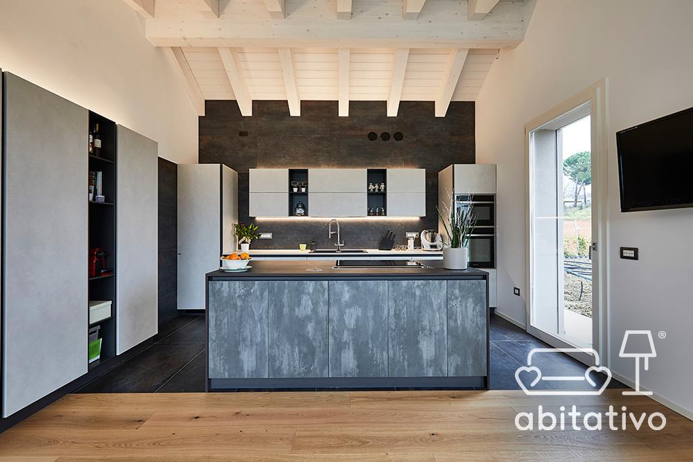 piastrelle pavimento cucina gres porcellanato